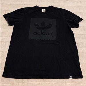 adidas Blackbird Black/Black Tee